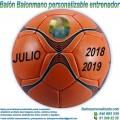 Balón Balonmano Personalizable diseño Entrenadores