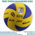 Balón Voleibol Personalizable diseño Bodas-Novios