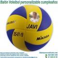 Balón Voleibol Personalizable diseño Cumpleaños