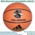 Balón Baloncesto Personalizable Jubilaciones