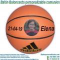 Balón Baloncesto Personalizable Comuniones