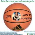 Balón Baloncesto Personalizable Despedidas
