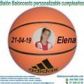 Balón Baloncesto Personalizable Cumpleaños