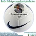 Balón de Fútbol Personalizable para Jubilaciones Nike Pitch