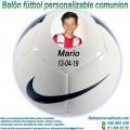 Balón Fútbol Personalizable Comuniones Nike Pitch