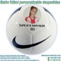 Balón Fútbol Personalizable Despedidas Nike Pitch