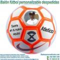 Balón Fútbol Personalizable Despedidas Nike Strike