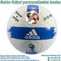 Balón Fútbol Personalizable Bodas-Novios adidas EPP2