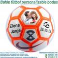Balón Fútbol Personalizable Bodas-Novios Nike Strike