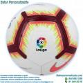 Balón Fútbol Personalizado Nike la liga 2018-2019