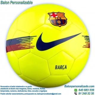 Balón Fútbol Personalizable con imágenes o textos Fc.Barcelona