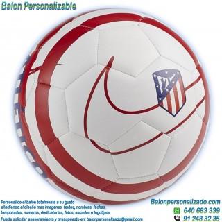 Balón Fútbol Personalizable con imágenes o textos Atlético de Madrid