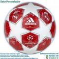 Balón Fútbol Personalizado del Real Madrid Rojo