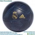 Balón Fútbol Personalizado del Real Madrid Azul