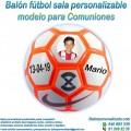 Balón Fútbol Sala Personalizable diseño Comuniones
