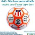 Balón Fútbol Sala Personalizable diseño Clubes