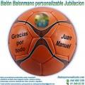 Balón Balonmano Personalizable diseño Jubilaciones