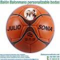 Balón Balonmano Personalizable diseño Bodas-Novios
