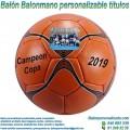 Balón Balonmano Personalizable diseño Celebrar Títulos