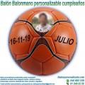 Balón Balonmano Personalizable diseño Cumpleaños